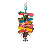 Cage Toy , pear wood multicolored