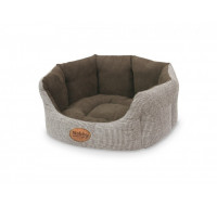 Josi Bed oval brown