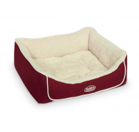 Curi Bed square red