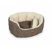 Alba Bed oval brown