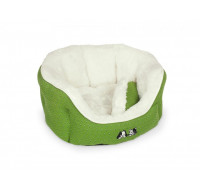 Esma Bed oval green