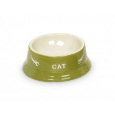 Cat double bowl lime