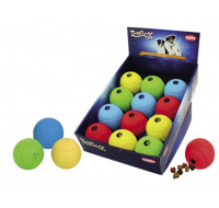Rubber snack ball