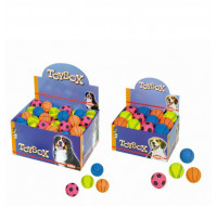 Foam rubber toy balls