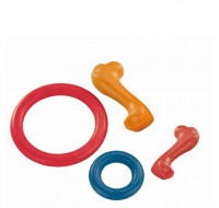 Rubber Line ring, bone