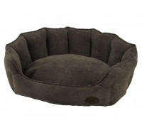 Bench oval Boteli brown