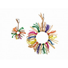 Sisal toy with Star