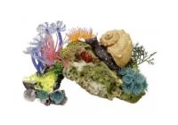 Декорации и фоны <br />для аквариума