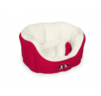 Esma Bed oval red