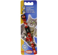 Nobby Cat collar Floral red