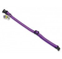 Nobby Cat collar Dots violet
