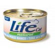 LifeCat tuna with white fish 85g