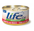 LifeCat tuna with beef 85g
