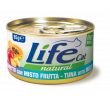 LifeCat tuna with fruit mix 85g