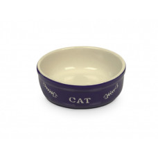 Cat bowl blue