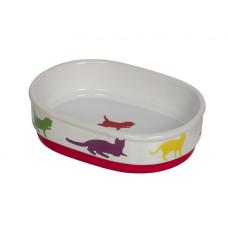 Cat bowl Fun oval