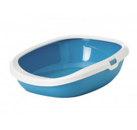 Toilet for cats Gizmo blue