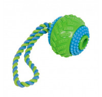 TPR -ball with rope greem