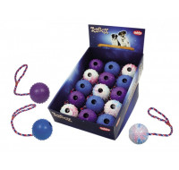 Ball with rope assorted
