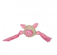 Plush nylon pig's head