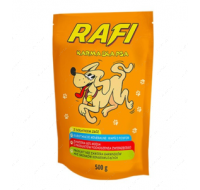 Dolina Noteci Rafi dogs with cereals spider