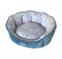 Bench Oval Spot blue