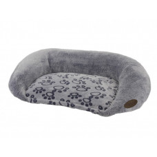 Bench oval Step gray