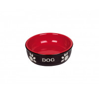 Dog black-red