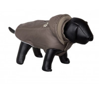 Coat dog clothes Baly dark grey