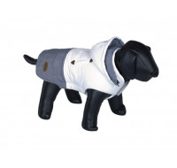 Coat dog clothes Duo white grey