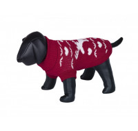 Sweater dog clothes Xirsh red