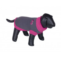 Sweater dog clothes Paf grey pink