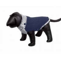 Fargo dog coat navy