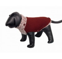 Fargo dog pullover red