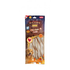 Dog Snack Barbecue Chicken twist XL