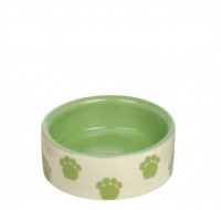 Ceramic bowl green