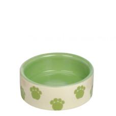 Ceramic bowl green