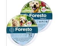 Bayer Foresto ошейник против блох и клещей для кошек и собак 38см и 70см