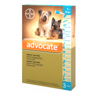 Bayer Advocate dog 4-10kg