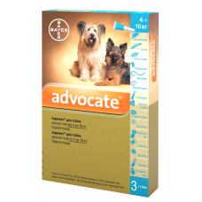 Bayer Advocate dog 4-10kg